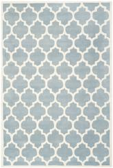 Safavieh Chatham CHT734B Blue and Ivory