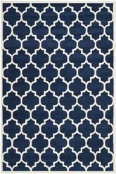 Safavieh Chatham CHT734C Dark Blue and Ivory