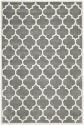 Safavieh Chatham CHT734D Dark Grey and Ivory