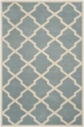 Safavieh Chatham CHT735B Blue and Ivory