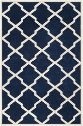 Safavieh Chatham CHT735C Dark Blue and Ivory