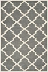 Safavieh Chatham CHT735D Dark Grey and Ivory