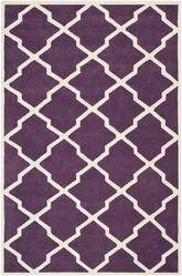 Safavieh Chatham CHT735F Purple and Ivory