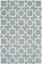 Safavieh Chatham CHT737B Blue and Ivory