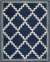 Safavieh Chatham CHT743C Navy and Ivory