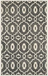 Safavieh Chatham CHT745D Dark Grey and Ivory