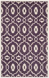 Safavieh Chatham CHT745F Purple and Ivory