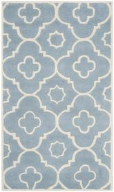 Safavieh Chatham CHT750B Blue and Ivory