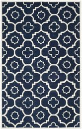 Safavieh Chatham CHT750C Dark Blue and Ivory