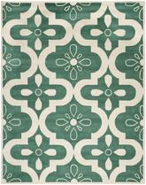 Safavieh Chatham CHT751T Teal and Ivory