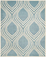 Safavieh Chatham CHT758B Blue and Ivory