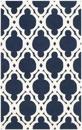 Safavieh Chatham CHT762C Dark Blue and Ivory