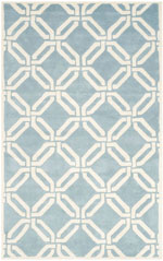 Safavieh Chatham CHT763B Blue and Ivory