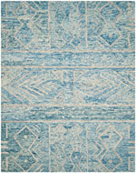 Safavieh Chatham CHT764B Blue and Ivory