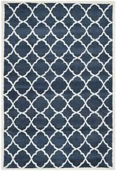 Safavieh Chatham CHT821A Blue and Ivory