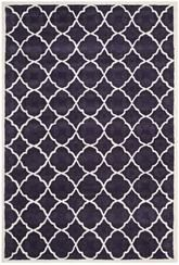 Safavieh Chatham CHT821B Purple and Ivory
