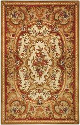 Safavieh Classic CL222B Ivory and Red