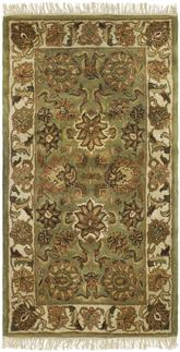 Safavieh Classic CL254C Light Green and Ivory