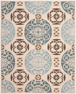 Safavieh Capri CPR353A Beige and Blue