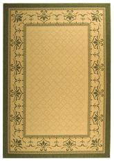 Safavieh Courtyard CY0901-1E01 Natural and Olive