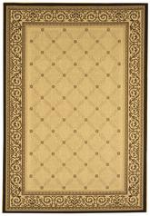 Safavieh Courtyard CY1502-3901 Sand and Black