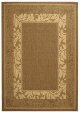Safavieh Courtyard CY1704-3009 Brown and Natural