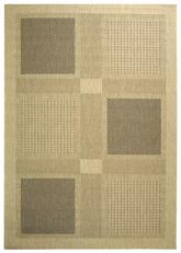 Safavieh Courtyard CY1928-3901 Sand and Black