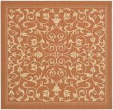 Safavieh Courtyard CY2098-3202 Terracotta and Natural