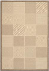 Safavieh Courtyard CY2109-3001 Natural and Brown