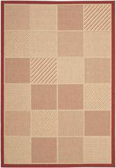 Safavieh Courtyard CY2109-3701 Beige and Red