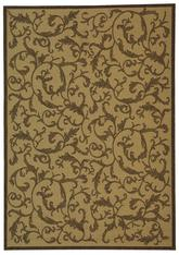 Safavieh Courtyard CY2653-3001 Natural and Brown