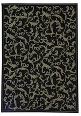 Safavieh Courtyard CY2653-3908 Black and Sand