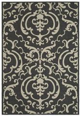 Safavieh Courtyard CY2663-3908 Sand and Black