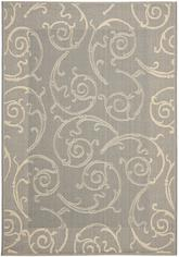 Safavieh Courtyard CY2665-3606 Grey and Natural