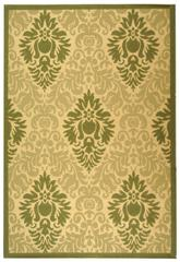 Safavieh Courtyard CY2714-1E01 Natural and Olive