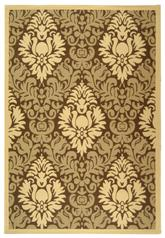 Safavieh Courtyard CY2714-3009 Brown and Natural