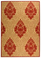 Safavieh Courtyard CY2714-3701 Beige and Red