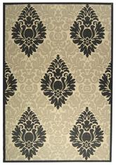 Safavieh Courtyard CY27143901 Sand and Black