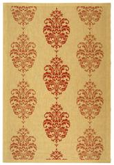 Safavieh Courtyard CY2720-3701 Beige and Red