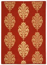 Safavieh Courtyard CY2720-3707 Red and Natural