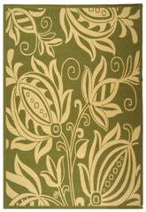 Safavieh Courtyard CY2961-1E06 Olive and Natural