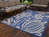 Safavieh Courtyard CY2961-3103 Blue and Natural