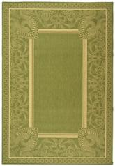 Safavieh Courtyard CY2965-1E06 Olive and Natural