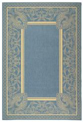 Safavieh Courtyard CY2965-3103 Blue and Natural