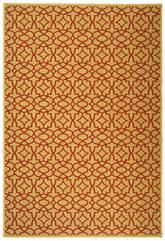 Safavieh Courtyard CY3006-3701 Beige and Red