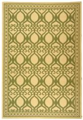 Safavieh Courtyard CY3040-1E01 Natural and Olive