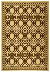 Safavieh Courtyard CY3040-3001 Natural and Brown