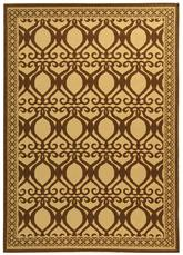 Safavieh Courtyard CY30403001 Natural and Brown