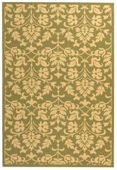 Safavieh Courtyard CY34161E06 Olive and Natural