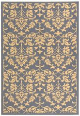 Safavieh Courtyard CY3416-3103 Blue and Natural